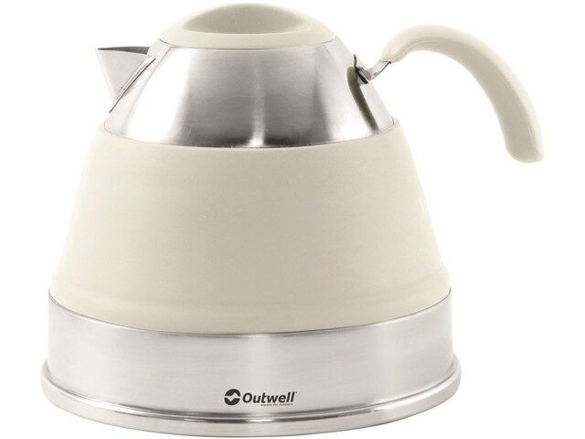 Outwell Collaps Bouilloire 2,5l, cream white